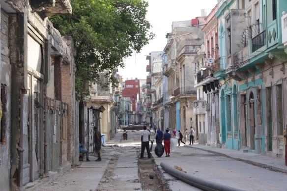Havana drainpipes, 15 March 2017