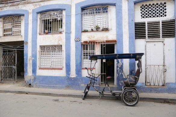 Havana empty bike taxi, 15 March 2017