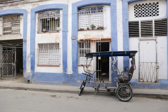 Havana empty bike taxi, 15 March 2017