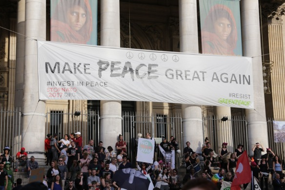 Make peace great again, 24 May 2017