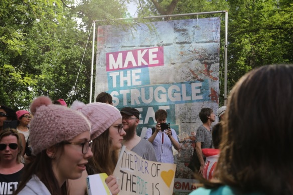 Make the struggle great again, 24 May 2017
