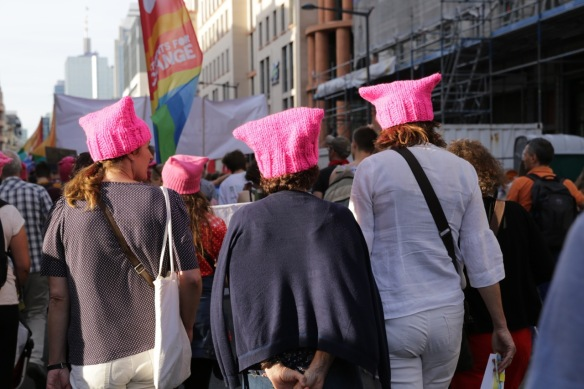 Pussyhats, Brussels, 24 May 2017