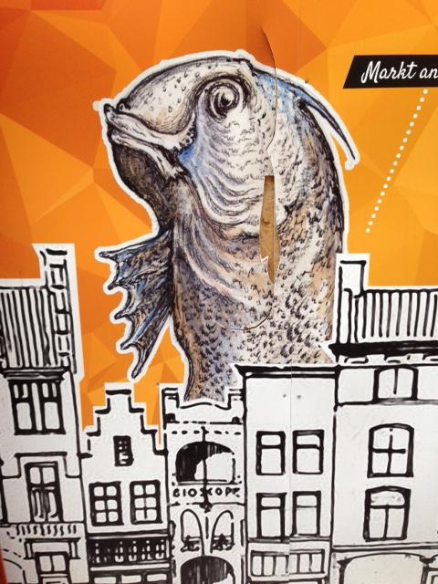 Den Bosch fish, 10 August 2017