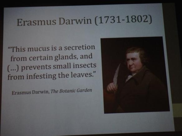 Erasmus Darwin, 11 August 2017