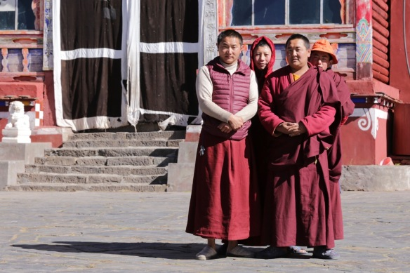 Pamuling Tibetan Buddhist monastery monks, 3 April 2018