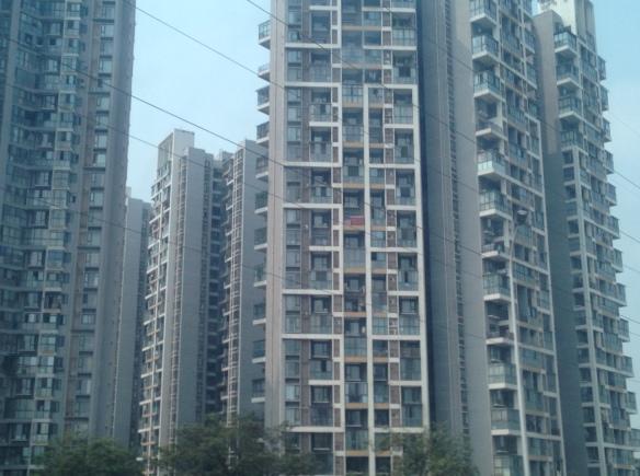 Chengdu buildings, 4 April 2018