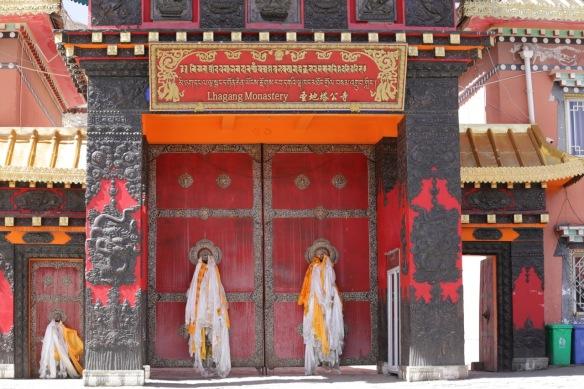 Lhagang monastery, 3 April 2018