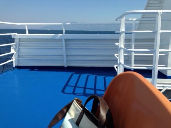 Kos-Tilos ferry. 18 April 2019