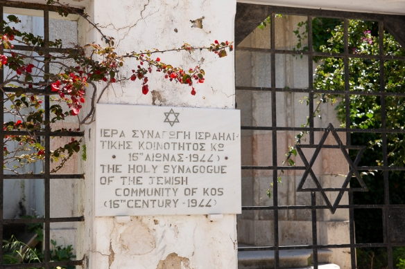 Kos synagogue,18 April 2019