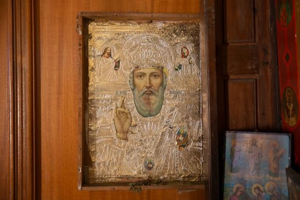 Agios Nikolaos icon, 3 May 2019