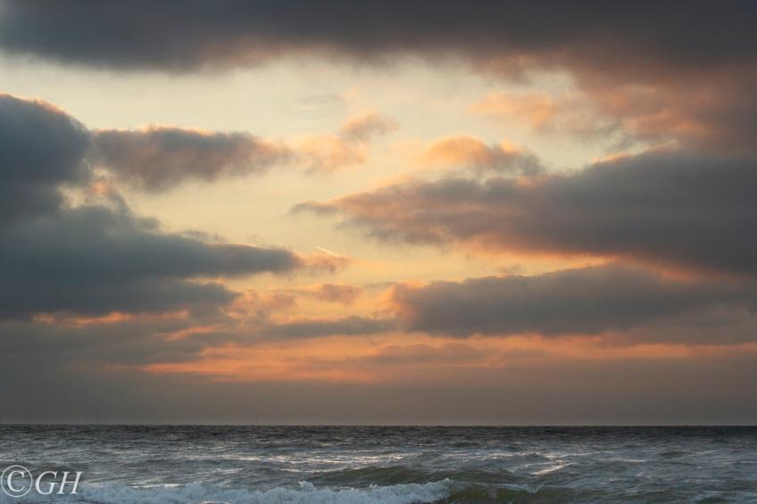 Sunset, 21 January 2020, Schoorl