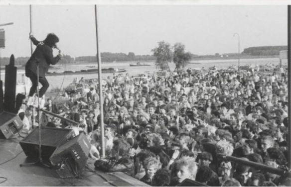 Siouxsie & The Banshees - Tiel, Nieuwe Kade 7-7-1981