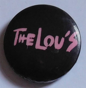 Lou's badge