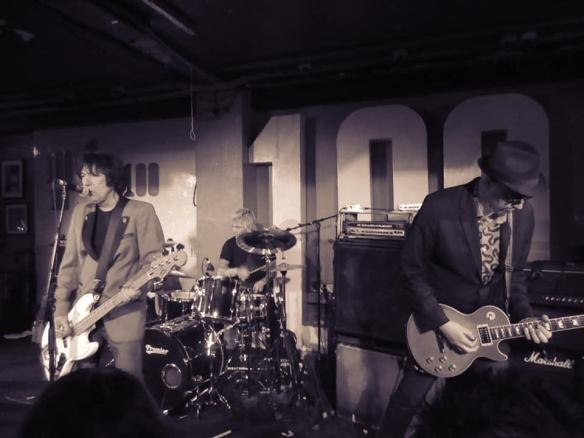 Alvin Gibbs and the Disobedient Servants. Band live photo credit Andy Luckett